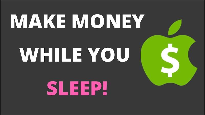 5 ways to make money in your sleep