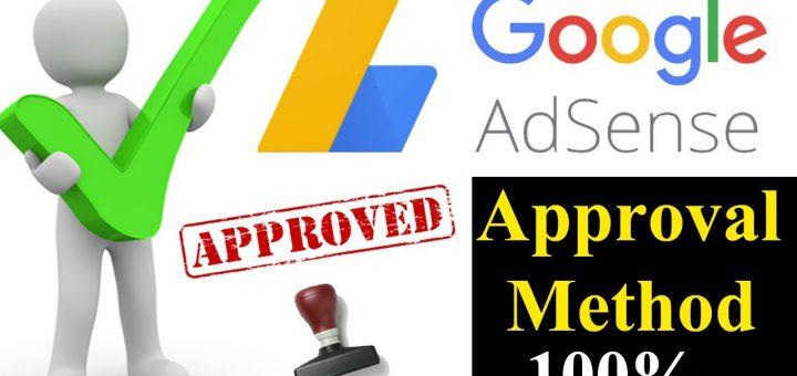 Google Adsense Account Approval Process 2021